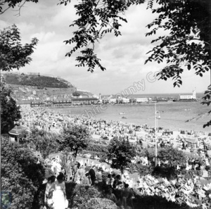 South Sands from St Nicholas Gardens, Scarborough